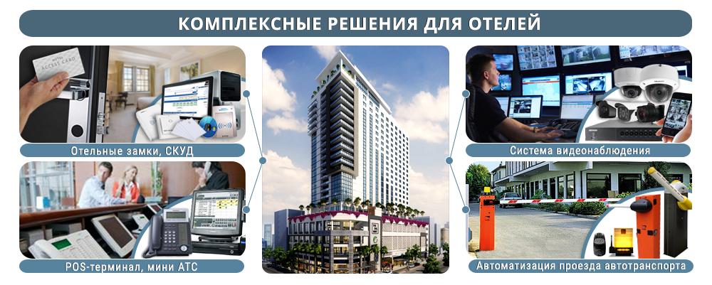 Комплексные решения для отелей