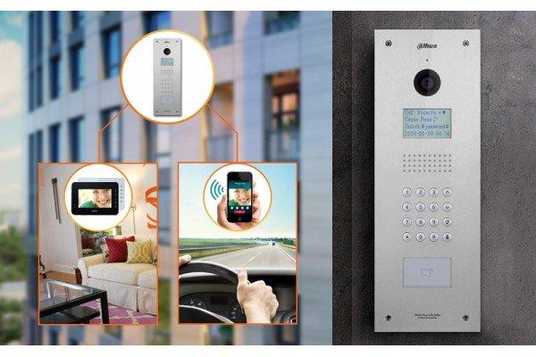 IP видеодомофон для многоквартирного дома