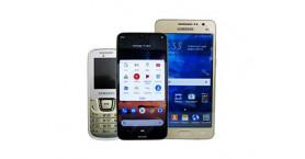 Мобільні телефони б/в