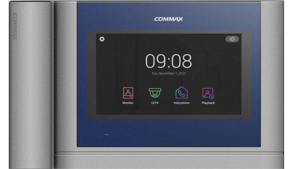 AHD видеодомофон Commax CDV-704MHA с трубкой и сенсорным экраном