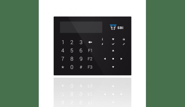 Клавиатура Орион К-GLCD (черная)