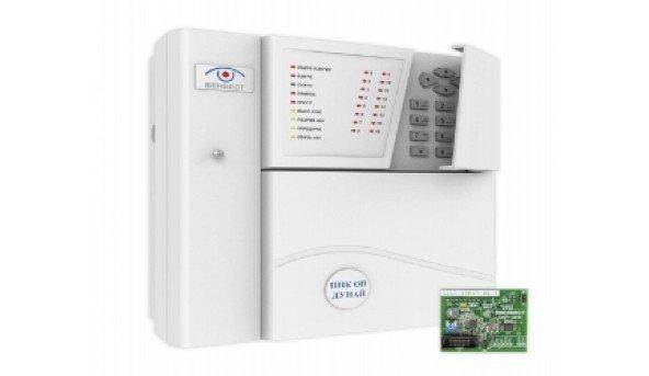 Комплект: Прибор приемно-контрольный Дунай 16/32+модуль Дунай-DAN-DKN функциональный блок
