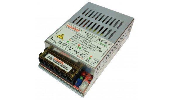 Блок питания Faraday 50W/12-24V/120/AL