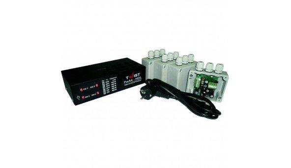 Комплект підсилювачів Twist PwA4-HDL для чотириканальної передачі відеосигналу по витій парі