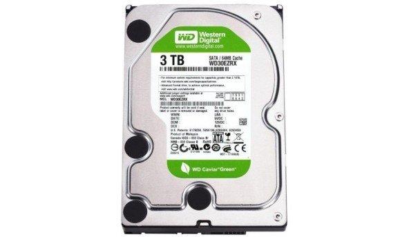 Жесткий диск Western Digital Green WD30EZRX 3/Tb