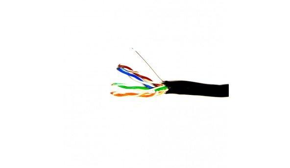 Сетевой кабель ATIS FTP 4x2x0.5-CU PE кат.5е (FTP медь наружный) бухта 305м