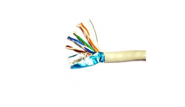 Сетевой кабель ATIS FTP 4x2x0.5-CU кат.5е (FTP медь внутренний) бухта 305м