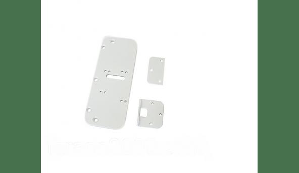 Комплект деталей для металлопластиковых дверей (белый) Dori