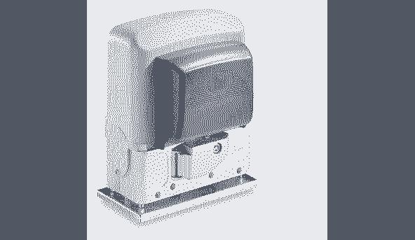 Автоматика для откатных ворот CAME ВK 1200 створка до 1200 кг