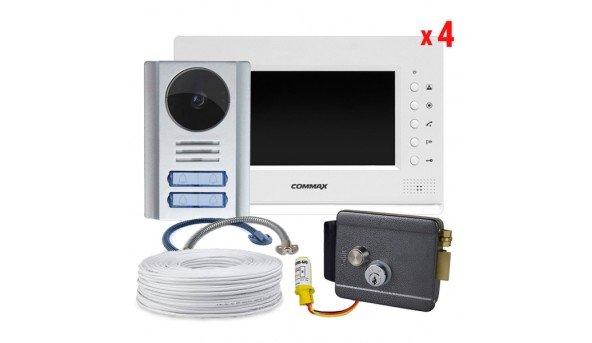 Комплект Commax CDV-70A Pearl+Neolight MEGA/4+электромеханический замок Atis Lock G