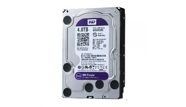 Жесткий диск Western Digital Purple 4TB