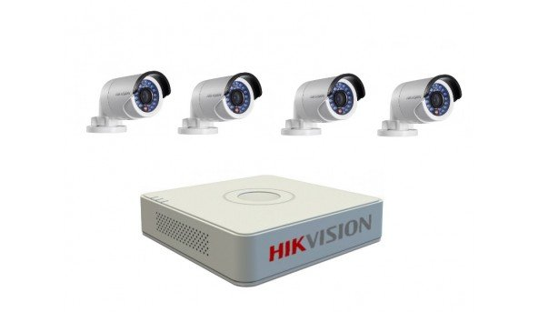 Комплект IP видеонаблюдения
