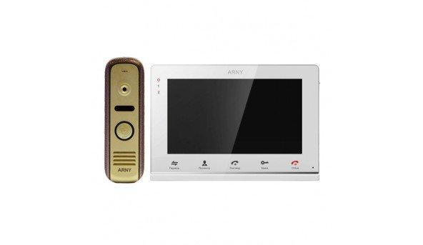 Для квартиры Arny AVD-710MD white + AVP-NG110 red/AVP-NG210 gold