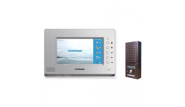 Для квартиры Commax CDV-71AM Silver+Commax DRC-4CPN2