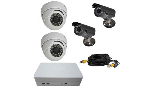 ATIS KIT-DVR-2x2 ECONOM IR