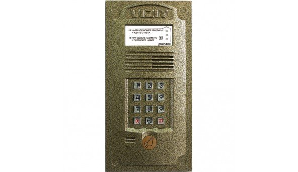 Блок вызова Vizit БВД-321R