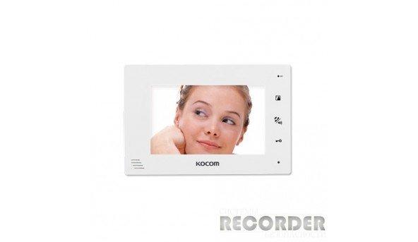 Кольоровий відеодомофон Kocom KCV-A374