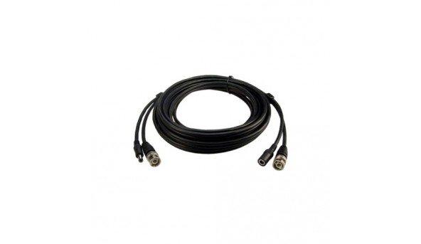 BNC-power кабель 15м