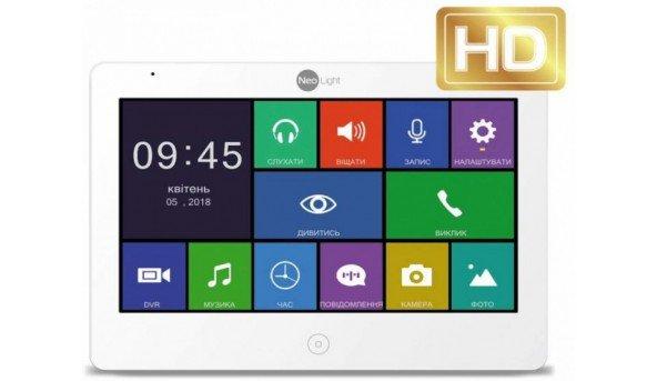 Цветной видеодомофон NeoLight MEZZO+ Full HD с записью видео по движению