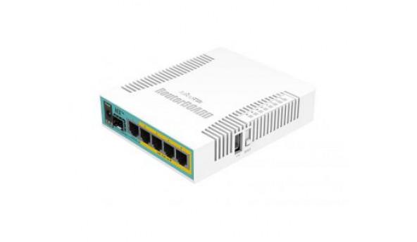 hEX PoE (RB960PGS) 5-портовый PoE маршрутизатор