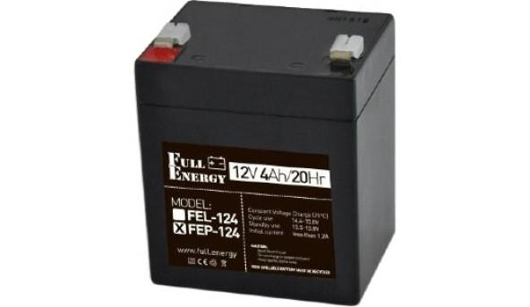 Full Energy FEP-124 Аккумулятор 12В 4 Ач для ИБП