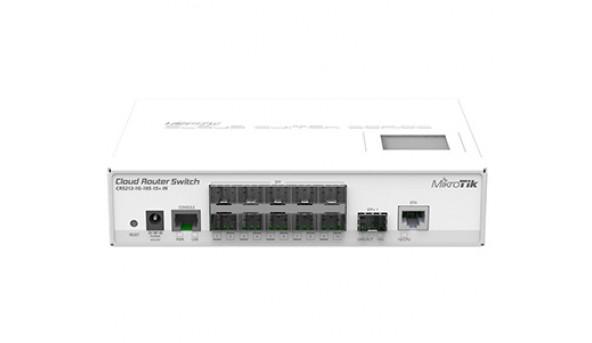 CRS212-1G-10S-1S+IN 10-портовый управляемый Cloud коммутатор