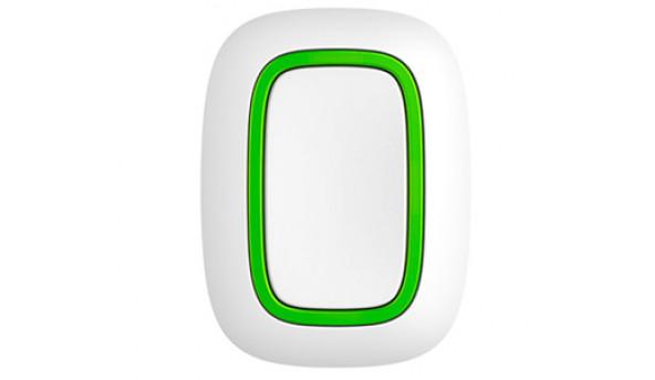Ajax Button white EU Беспроводная тревожная кнопка белая