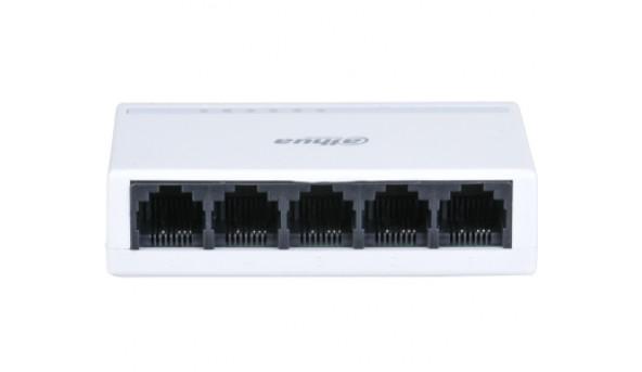 DH-PFS3005-5ET-L 5-портовый L2 неуправляемый коммутатор