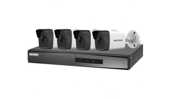 NK42E0H-1T(WD) PoE Комплект видеонаблюдения Hikvision