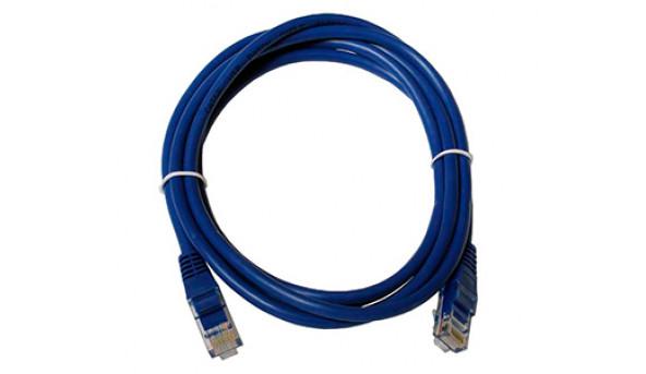 UTP Cat5E Blue Патчкорд (для внутренней прокладки) 2м
