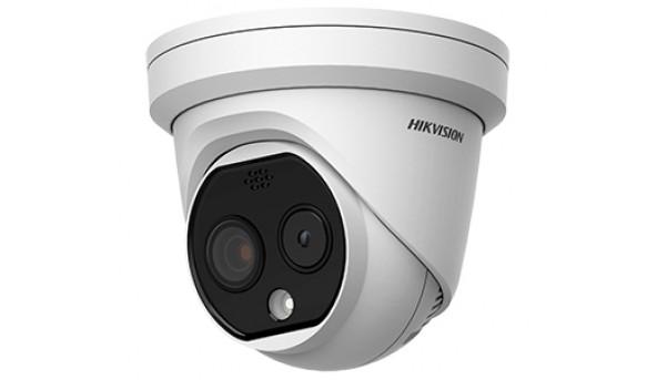 DS-2TD1217B-3/PA 4Мп би-спектральная тепловизионная IP камера Hikvision