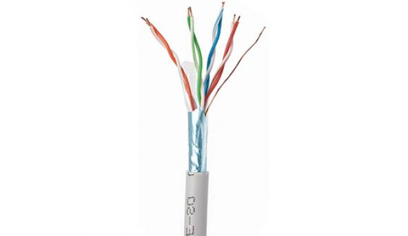 OK-Net КПВЭ-ВП (200) FTP кат.5е бухта 305м Витая пара (FTP медь внутренний)
