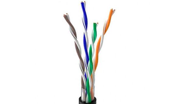 OK-Net КПП-ВП (100) UTP кат.5е, 4х2х0.51 бухта 305м Витая пара (UTP медь наружный)