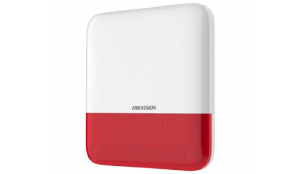 DS-PS1-E-WE-Red Беспроводная внешняя сирена (красная)