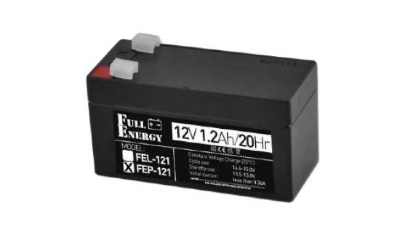 Full Energy FEP-121 Аккумулятор 12В 1.2 Ач для ИБП