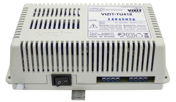 VIZIT-TU418,Блок керування пульта