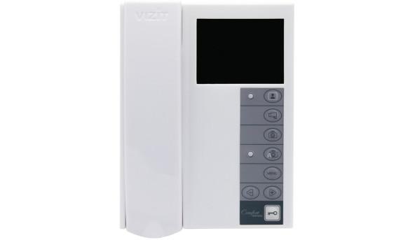 Відеодомофон. VIZIT-M442MW,  TFT LCD(білий)