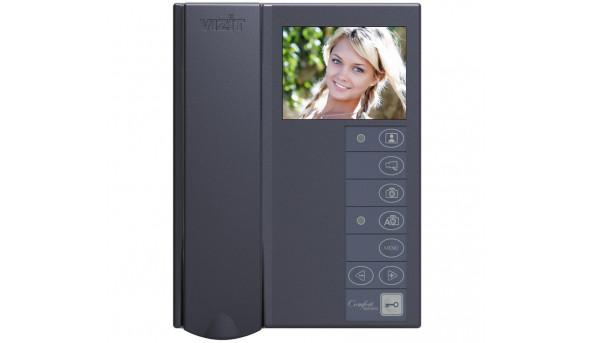 """Відеодомофон VIZIT-M442MG2, Екран (PAL, 3,5 """")(темно-сірий)"""