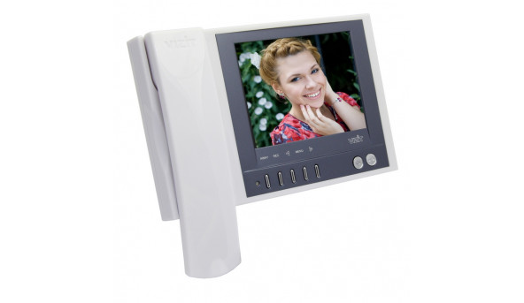 Відеодомофон  кольорового зображення VIZIT-М457M(білий)