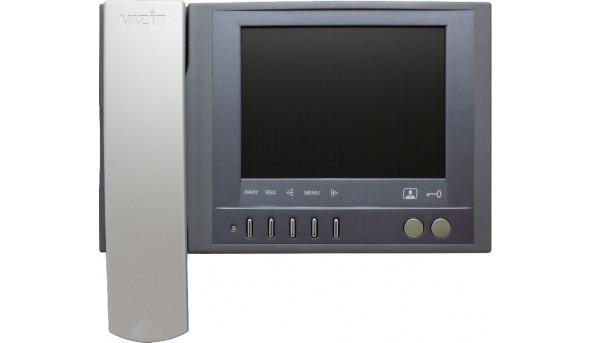 Відеодомофон  кольорового зображення VIZIT-M457МG, Екран(PAL, 5,6)(Сірий металік)