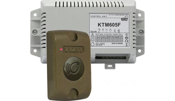 Контролер ключів, VIZIT-KTM605F, VIZIT-RF3.