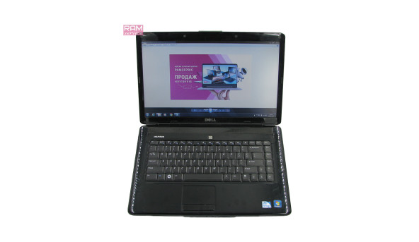 "Ноутбук Dell Inspiron 1545, 15.6"", Intel Pentium T4400, 3 GB RAM, 320 GB HDD, Інтегрована Mobile Intel 45 Express, Windows 7, Б/В"