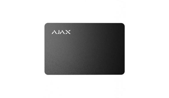 Ajax Pass black (10pcs) бесконтактная карта управления