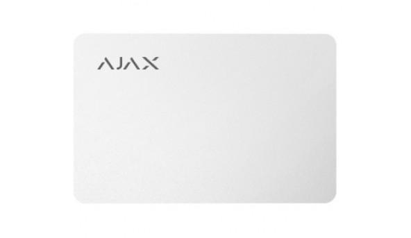 Ajax Pass white (10pcs) бесконтактная карта управления
