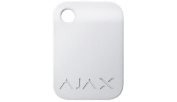 Ajax Tag white (10pcs) бесконтактный брелок управления