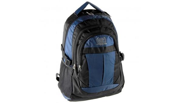 """Рюкзак для ноутбука Continent Рюкзак для ноутбука BP-001Blue черно-синий 15.6""""-16"""""""