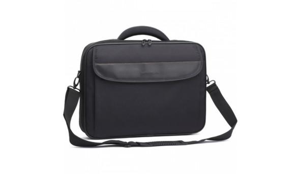 "Сумка для ноутбука Continent Сумка для ноутбука черная CC-089 Black 15""-16"""