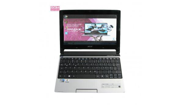 "Ноутбук Acer Aspire One 533, 10.1"", Intel Atom N455, 1 GB RAM, 160 GB HDD, Graphics Media Accelerator 3150, Windows 7, Б/В"