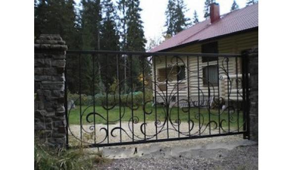Откатные ворота Alutech 2000х2000 мм (толщина 96 мм)