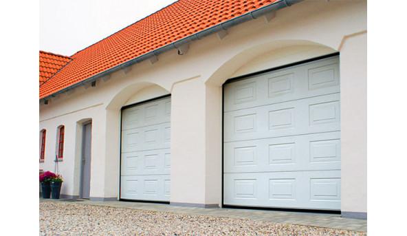 Секционные гаражные ворота Alutech Trend 3010 х 2100 мм